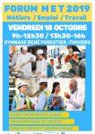Forum Apprentissage MET – Métier Emploi Travail à Thiviers le 18/11