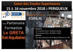 Forum INFOSUP Périgueux les 15 et 16/11/2018