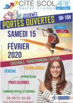 JPO Cité scolaire de Gaston Crampe (Landes)