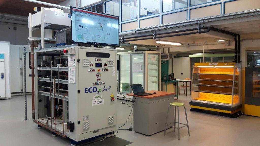 Approche d'une installation frigorifique au CO2 : Fonctionnement et Maintenance
