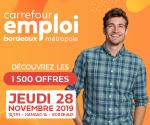 CARREFOUR EMPLOI BORDEAUX METROPOLE 2019