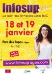 Salon Infosup Agen les 18 et 19 janvier 2018