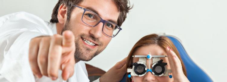 OPTIQUE LUNETTERIE Réfraction : L'examen de vue monoculaire (réfraction M2)